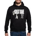 Great Dane Hoodie (dark)