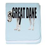 Great Dane baby blanket
