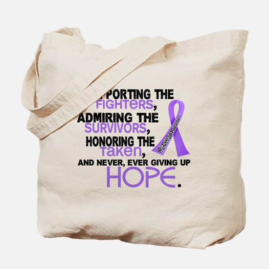 SupportAdmireHonor Hodgkin's Lymphoma Tote Bag