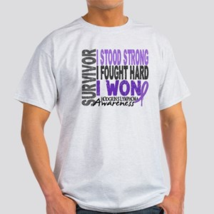 Survivor 4 Hodgkin's Lymphoma Light T-Shirt