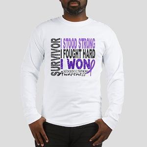 Survivor 4 Hodgkin's Lymphoma Long Sleeve T-Shirt