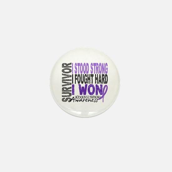 Survivor 4 Hodgkin's Lymphoma Mini Button