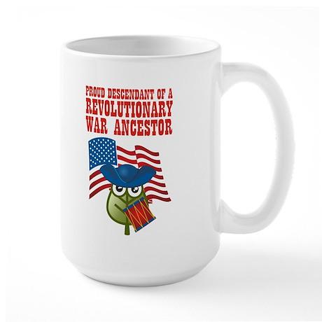 Revolutionary War Ancestor Large Mug