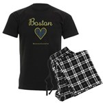 Boston Men's Dark Pajamas