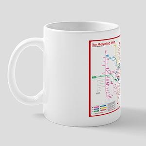 Marketing Map mug