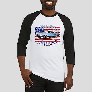 57 Chevy American Muscle Baseball Jersey