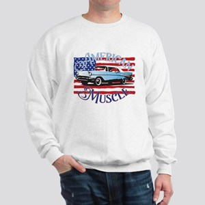 57 Chevy American Muscle Sweatshirt