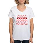 Mayomania Women's V-Neck T-Shirt