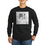 Global Warming (no text) Long Sleeve Dark T-Shirt