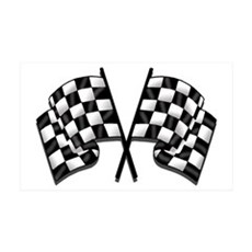 Chequered Flag 38.5 x 24.5 Wall Peel