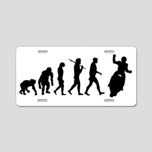 Motorcycle Evolution Aluminum License Plate