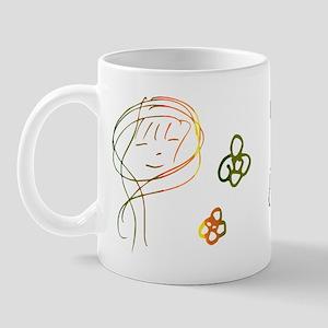 Susan Cowsill Face Autograph Mug