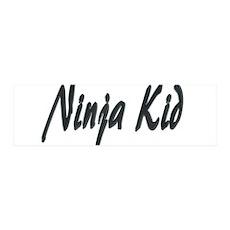 Ninja Kid 42x14 Wall Peel