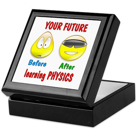 Physics Future Keepsake Box