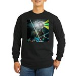 Howling Wolves Sweatshirt Long Sleeve Dark T-Shirt