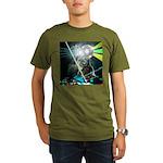 Howling Wolves Sweatshirt Organic Men's T-Shirt (d