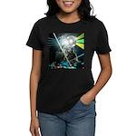 Howling Wolves Sweatshirt Women's Dark T-Shirt