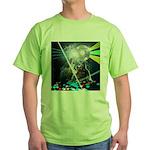 Howling Wolves Sweatshirt Green T-Shirt