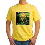 Howling Wolves Sweatshirt Yellow T-Shirt