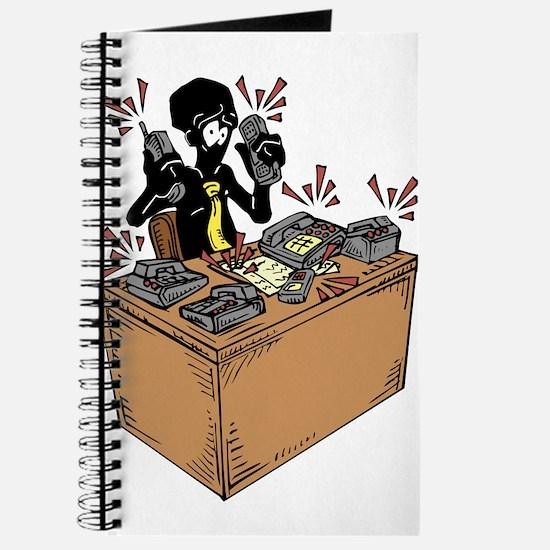 Cute Receptionist Journal
