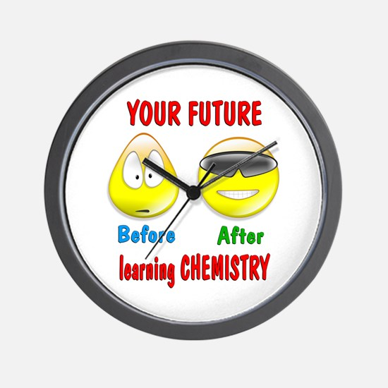 Chemistry Future Wall Clock