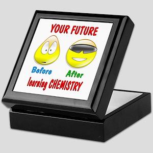 Chemistry Future Keepsake Box