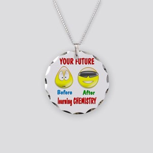 Chemistry Future Necklace Circle Charm