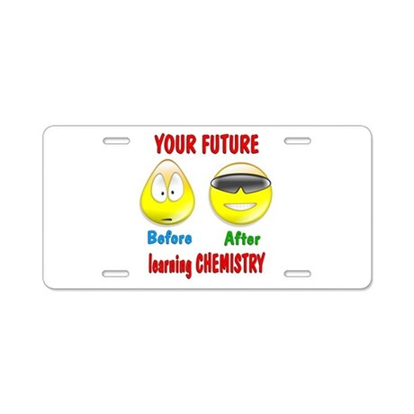 Chemistry equipment License Plate Holder by Admin_CP66866535 |Chemist License