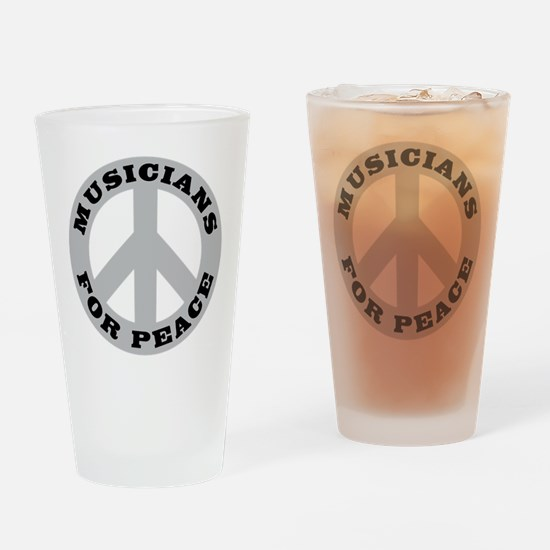 Musicians For Peace Pint Glass