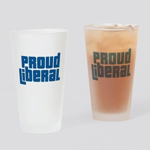 Proud Liberal Pint Glass