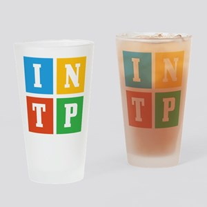 Myers-Briggs INTP Drinking Glass