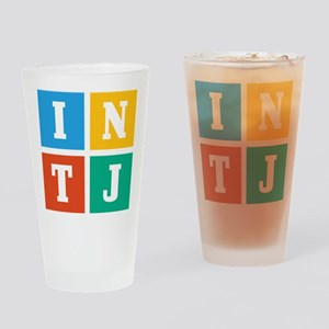 Myers-Briggs INTJ Drinking Glass