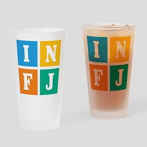 Myers-Briggs INFJ Drinking Glass
