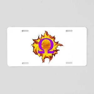 We are Omega! Aluminum License Plate
