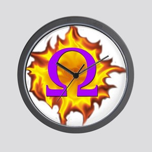 We are Omega! Wall Clock