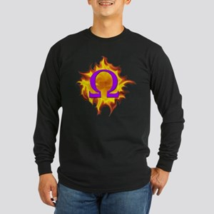 We are Omega! Long Sleeve Dark T-Shirt