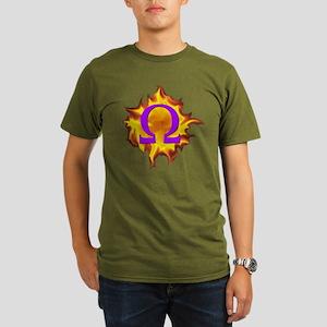 We are Omega! Organic Men's T-Shirt (dark)