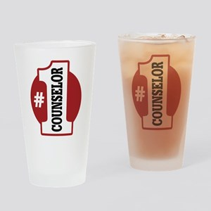 #1 Counselor Pint Glass