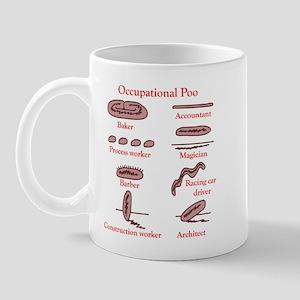 occupational poo Mug