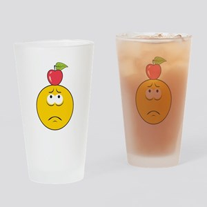 William Tell Target Smiley Fa Pint Glass