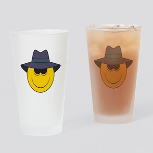 Private Eye/Spy Smiley Face Pint Glass