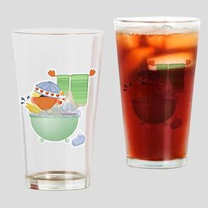 Cute Bathtime Ducky Pint Glass