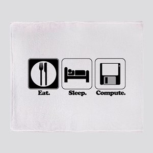 Eat. Sleep. Compute. Throw Blanket