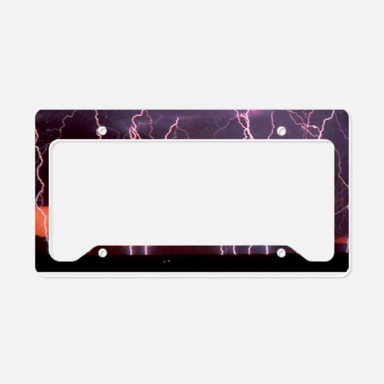 Lightning 1 License Plate Holder