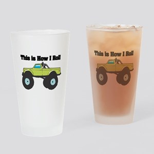 How I Roll (Monster Truck) Pint Glass