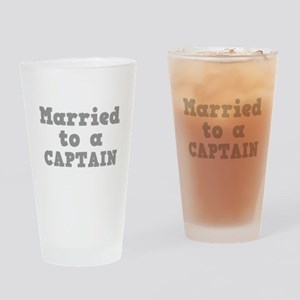 Married to a Captain Pint Glass