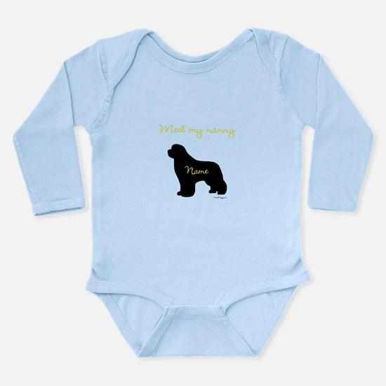 Meet My Nanny Long Sleeve Infant Bodysuit