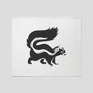 Skunk Throw Blanket