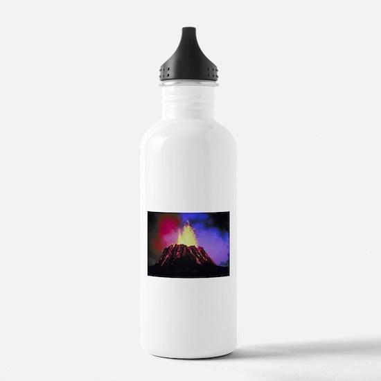 Kilauea Volcano Water Bottle