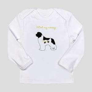 Meet My Nanny Long Sleeve Infant T-Shirt